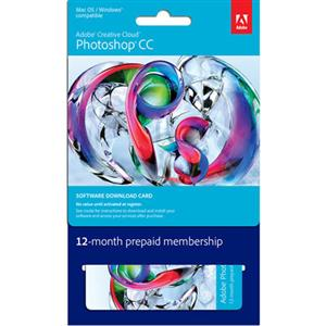 Adorama - Adobe Photoshop CC Creative Cloud, Individual 12 Month Subscription - Software Download