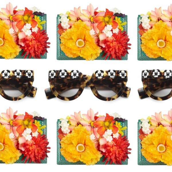High Fashion Trend To Try: 3D Florals