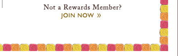 NOT A REWARDS MEMBER? JOIN NOW »