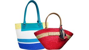 Bright and Colorful Beach Bags