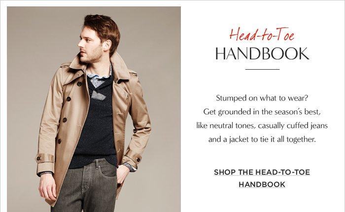 Head-to-Toe HANDBOOK || SHOP THE HEAD-TO-TOE HANDBOOK