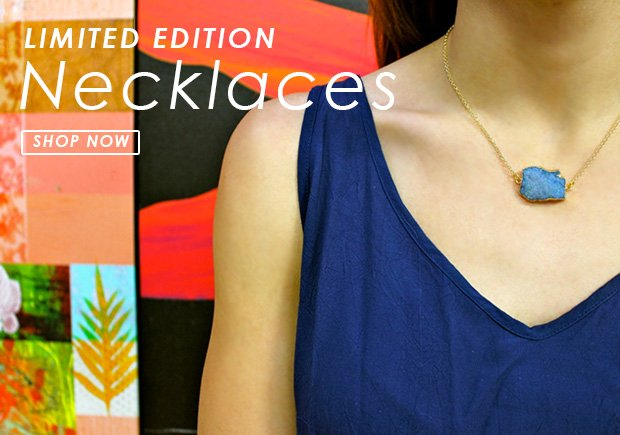 Limited Edition Necklaces - Shop Now