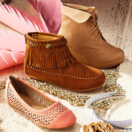Boho Pretty: Girls' Shoes