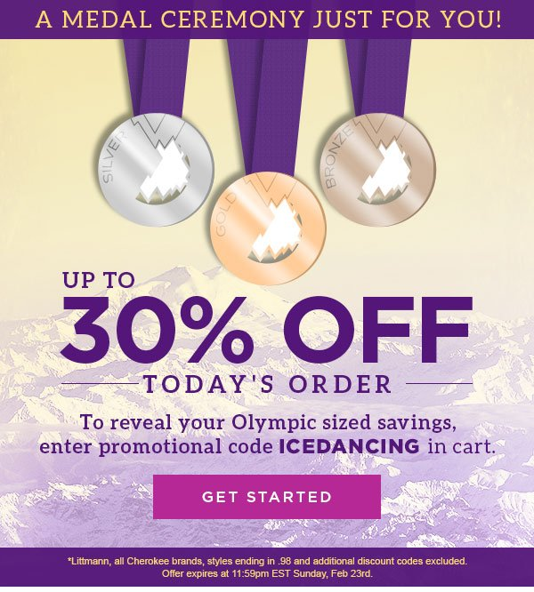 Up to 30% Off Today's Order - Get Started