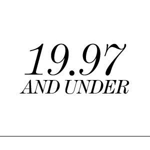 Under $29.97