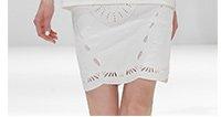 Lightweight neoprene skirt
