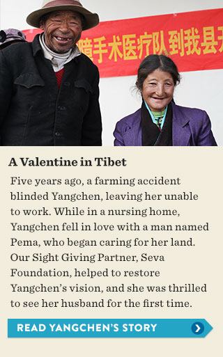 A Valentine in Tibet - read Yangchen's story