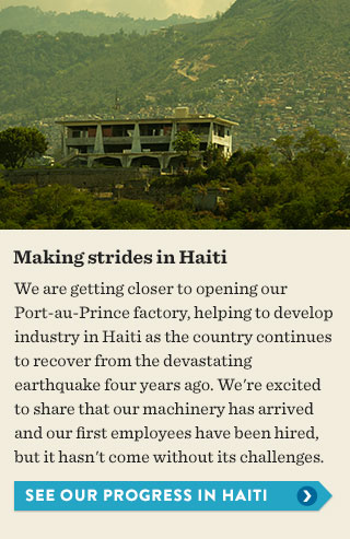 See our progress in Haiti