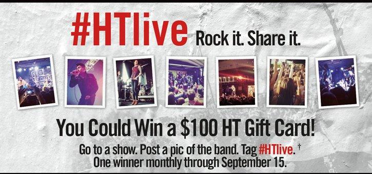 #HTLIVE ROCK IT. SHARE IT.