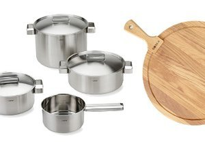 Steel & Wood: Kitchen Tools & More
