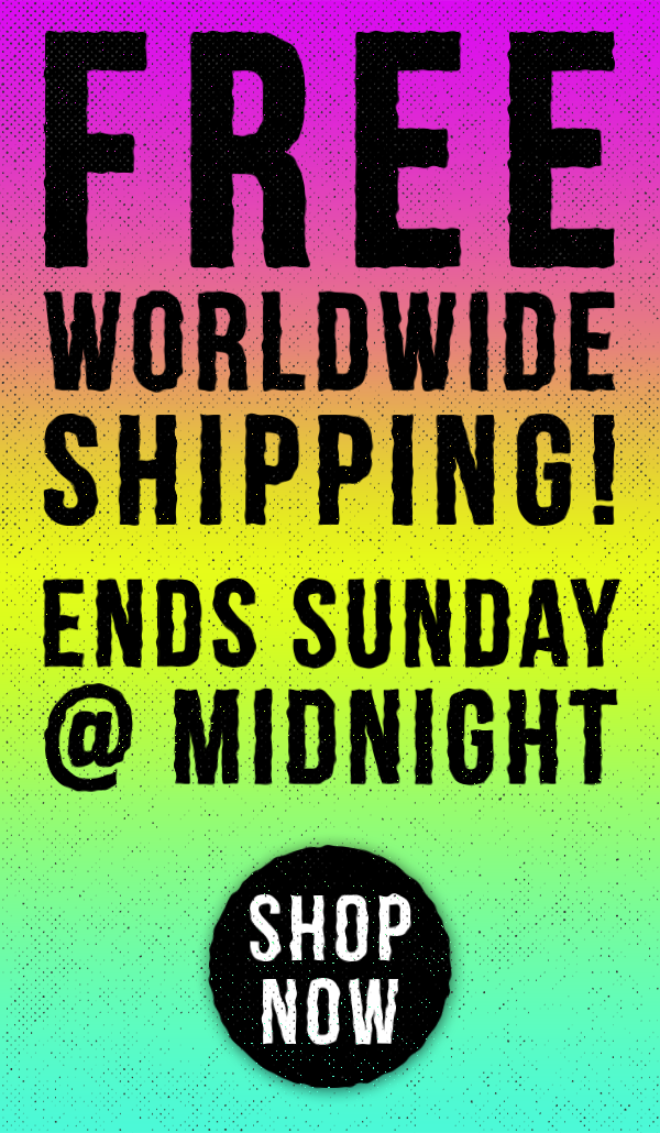 Free Shipping Ends Tomorrow