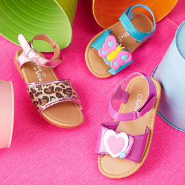 Hello, Toes: Girls' Sandals