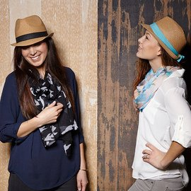 Trendy Appeal: Scarves & Hats
