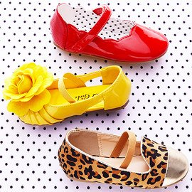 Step by Step: Girls' Shoes