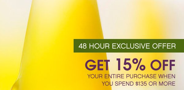 48 Hour Exclusive Offer