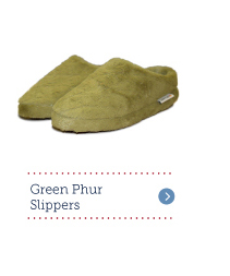 Green Phur Slippers