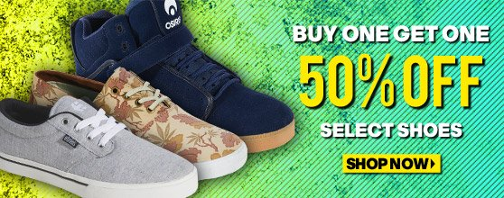 Shoe Sale: Buy One Get One 50% Off!