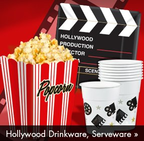 Hollywood Drinkware, Serveware