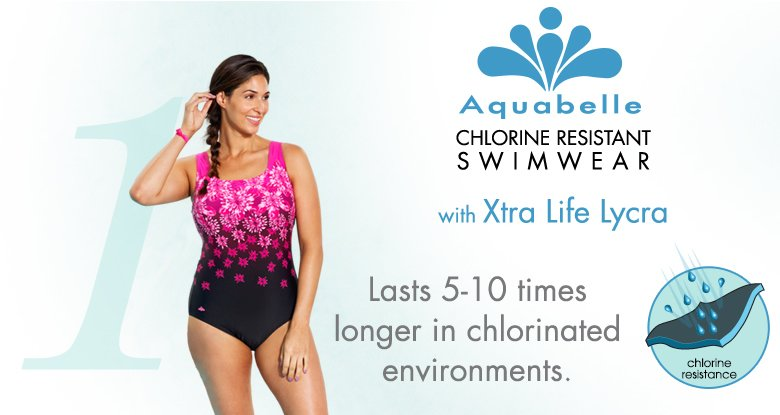xtra Life Lycra - built chlorine tough these suits will last 5-10x longer