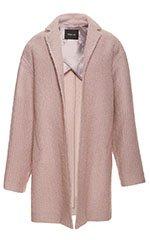 Lavender Boucle Coat