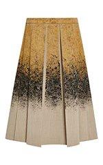 Spray Painted Neoprene Box Pleat Skirt