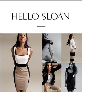 HELLO SLOAN