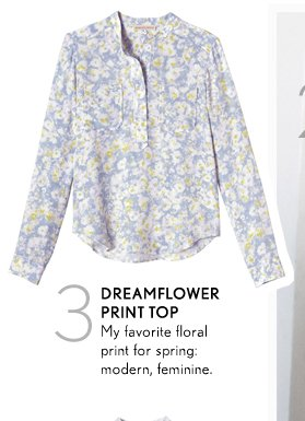 Dreamflower Print Top