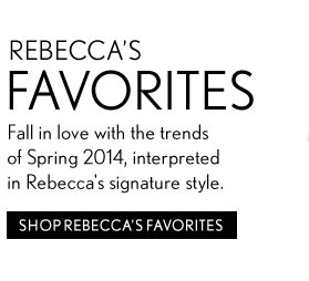 Shop Rebecca's Favorites