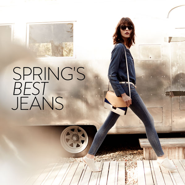 SPRING'S BEST JEANS