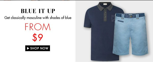 Blue it up from $9.00