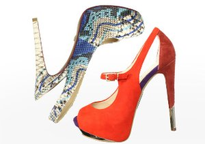 Shop by Height: Sky-High Heels