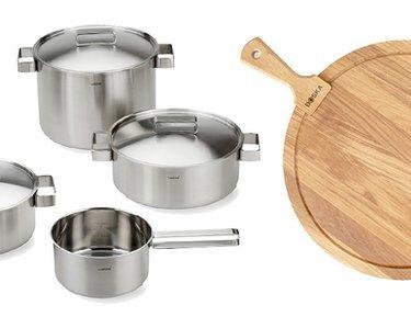 Steel & Wood: Kitchen Tools & More