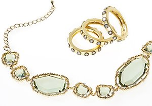 Mixed Metals: Jewelry & Watches