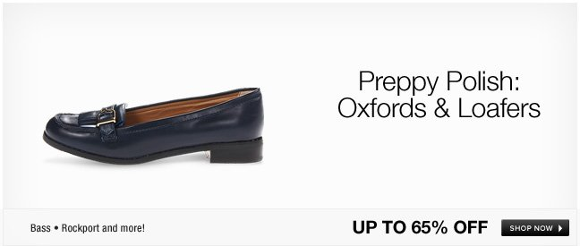 Preppy Polish: Oxfords and Loafers