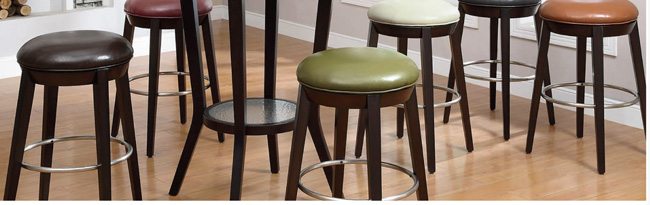 XL Counter-Height Swivel Stools (Set of 2)