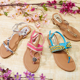 Greeting Spring: Women's Sandals