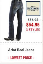 Ariat Real Denim Jeans