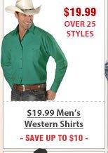 19 99 Mens Western Shirts