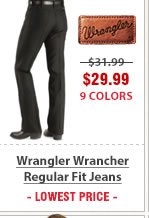 Wrangler Wrancher Regular Fit Jeans