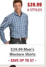 39 99 Mens Western Shirts