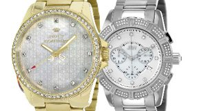 Diamond and Crystal Accented Watches