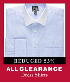 Clearance Dress Shirts - Reduced 25%