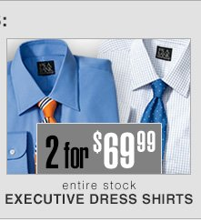 2 for $69.99 USD - Executive Dress Shirts