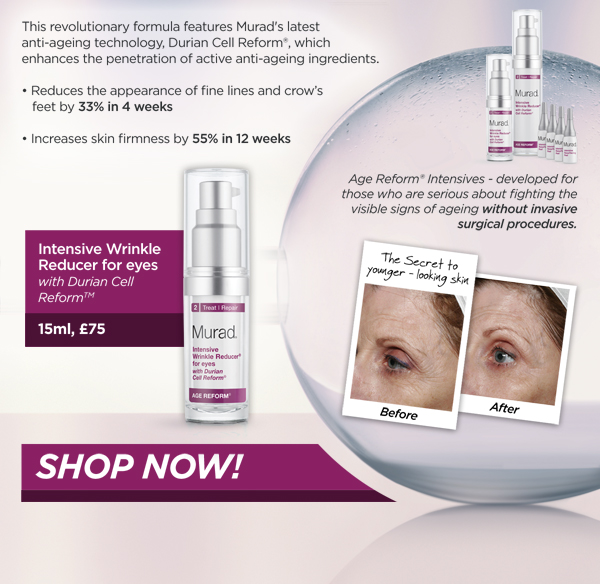 Intensive Wrinkle Reducer for Eyes: 15ml, £75