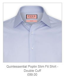 Quintessential Poplin Slim Fit Shirt - Button Cuff