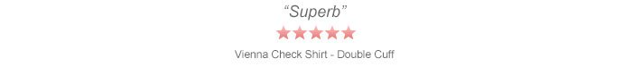 'Superb' - Vienna Check Shirt