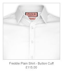 Freddie Plain Shirt - Button Cuff