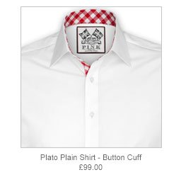 Plato Plain Shirt - Button Cuff