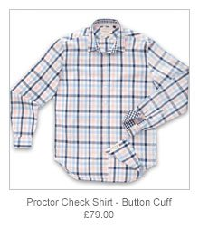 Proctor Check Shirt - Button Cuff