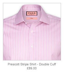 Prescott Stripe Shirt - Double Cuff